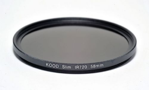 Kood R720  Infrared Special Effects Slim Ring Filter 58mm